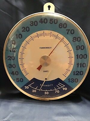 Vintage Original Jumbo Dial By The Ohio Thermometer Co