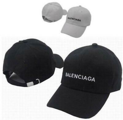 NEW Baseball Cap Balenciaga² Embroidery strapback adjustable hat vintage golf Z