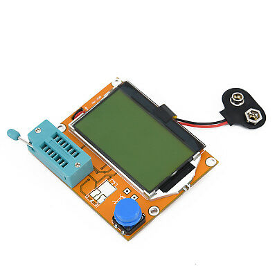 1Pc LCR T4 ESR Transistor Tester with Backlight One-Button Measuring Meter Sale