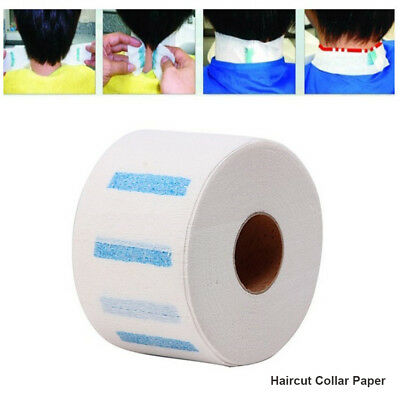 1Roll  Stretchy Disposable Neck Paper Strip for Barber Salon-Hairdressing