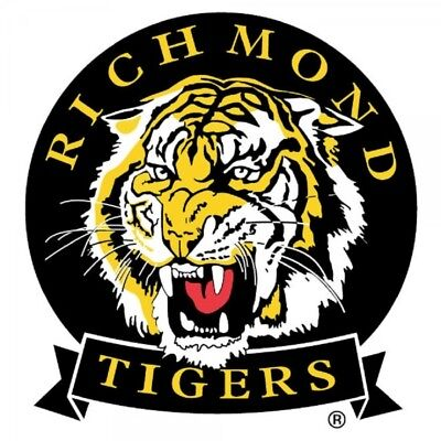 Richmond Tigers Mega Team Logo Static Cling Car Decal Sticker Official AFL