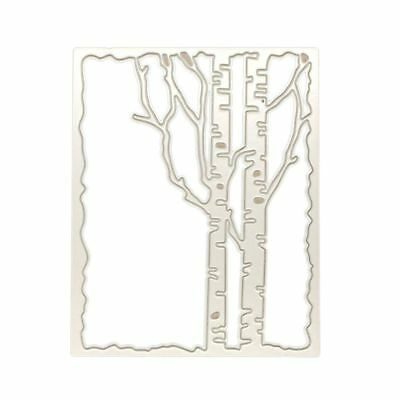 Branch Frame Cutting Dies Stencil DIY Scrapbooking Embossing Paper Card Crafts