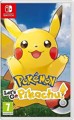 Nintendo Switch Pokemon Let's Go Pikachu  / Italiano
