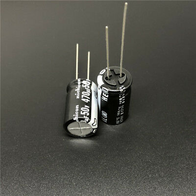 2x UCD2A470MNQ1MS Capacitor electrolytic low impedance SMD 47uF 100V NICHICON