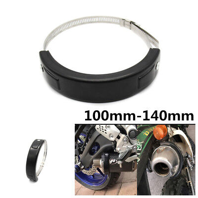 New Fit 100MM-140MM Oval Exhaust Protector Can Cover For YAMAHA XJR1200 XJR1300