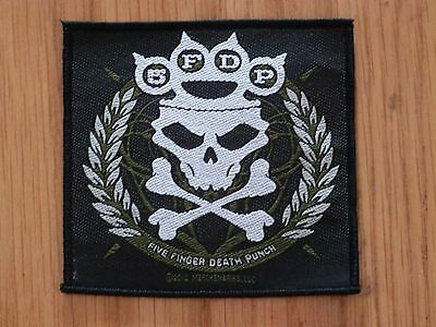 Five Finger Death Punch - Knuckle (New) Sew On Patch Official Band Merchandise