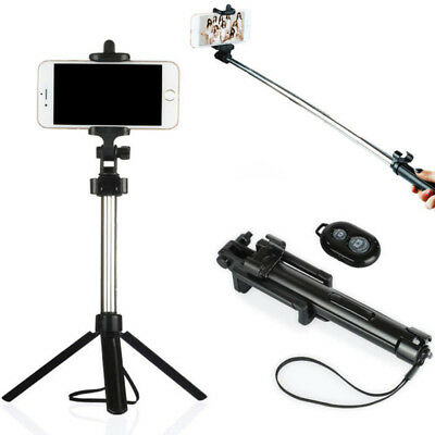 Handheld Tripod Monopod Selfie Stick + Bluetooth Remote for Android IOS QUALITY