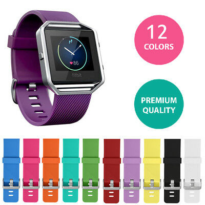 Replacement Silicone Gel Band Strap Bracelet Wristband for FITBIT BLAZE Sport .