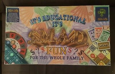 $.M.A.D - educational math board game + inventors letter - free shipping