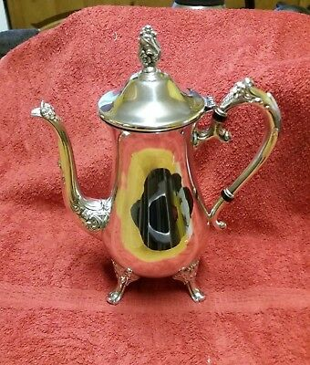 Antique EPNS Silver Plated Ornate  Tea / Coffee Pot -