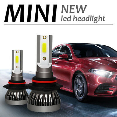 1pc 72W 9000LM LED Headlight Light Bulb H1/ H4/H7/H8/H9/H11/9005/9006 6000K MINI