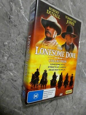 Lonesome Dove - The Complete Collection (DVD, Region 4, 6-Disc Set)GM12