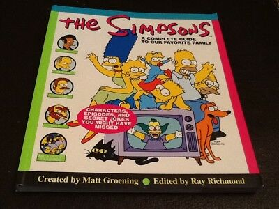 The Simpsons A Complete Guide To Our Favourite Family 1997 Paperback Book 249pgs