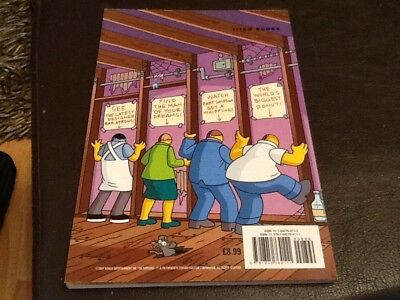 The Simpsons Comics BIG BEASTLY BOOK OF BART SIMPSON 2007 Paperback 118 pgs NEW