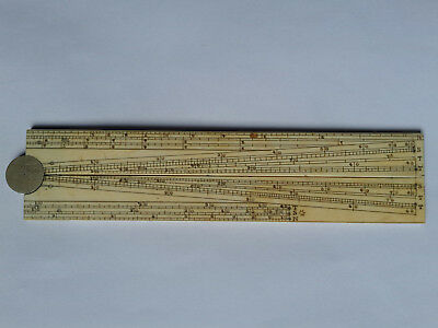 Antique - Early 19th Century Folding Sector Rule