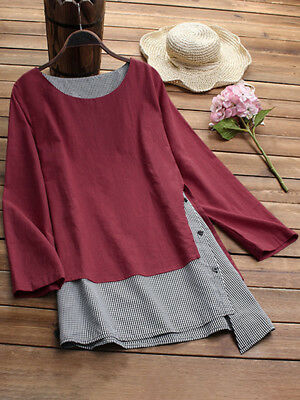 440c068bc1 Hot Womens PLUS SIZE Batwing Top Long Sleeve Off Shoulder Big Size T shirt