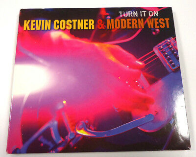 Turn It On von Kevin Costner & Modern West - 11 Tracks CD - DigiPack - 2010