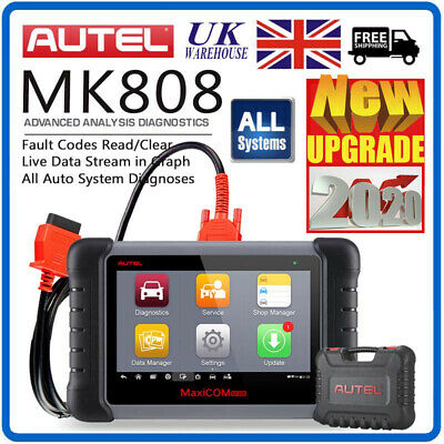 Autel MaxiCOM MK808 MX808 DS808 OBDII Cars Diagnostic Scanner Auto Engine Reader