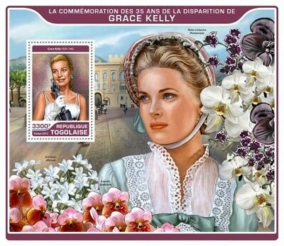 Z08 TG17206b Togo 2017 Grace Kelly MNH Mint