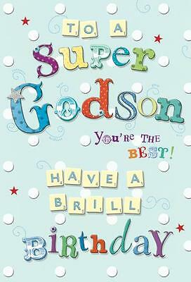 Godson Birthday Card To A Super Youre The Best Greeting Any Age