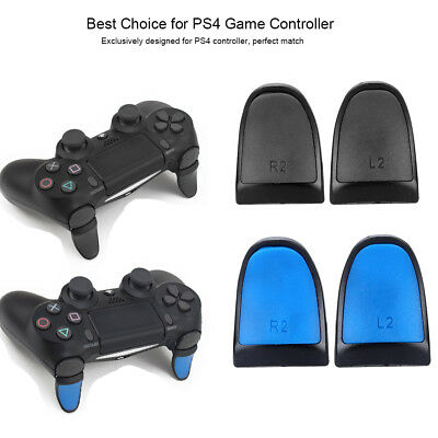 2X L2 R2 Controller Extenders Buttons Extension Trigger Extended Grips for PS4