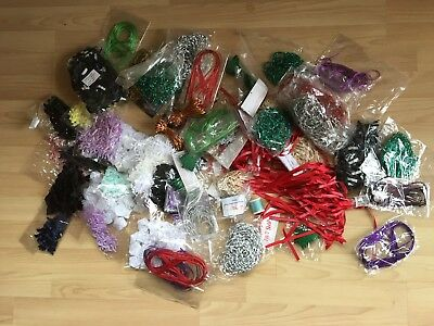 Craft Clearance: Bows, Ribbons, Elastics, accessories, loads of bits and bobs