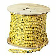 "Pack of 4 Ideal 31-839 Pro-Pull Rope, 1/4"" x 250'"
