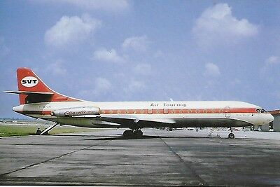 Air Touring (France) - Caravelle 6 R - F-Bton -1972- Le Bourget - Cpa Neuve/new