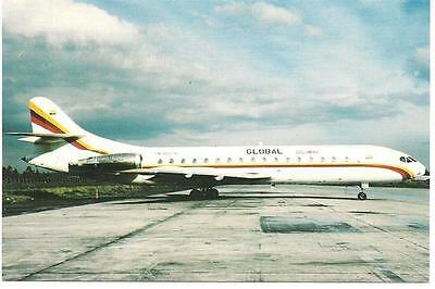 Global Colombia - Caravelle 10B3 - Hk3947X - 1996 - Cpa Neuve -  Postcard New