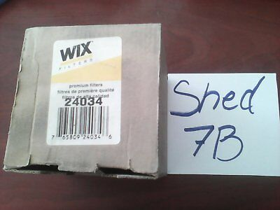 """Wix 24034 3//4/"""" in out Oil Fuel Hydraulic Filter Base Brand New old stock"""
