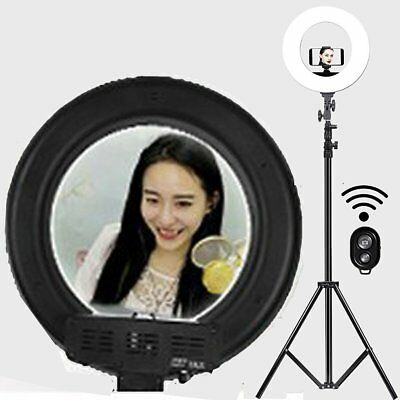 """18"""" LED Ring Light For Photo Video Photography Dimmable Youtube and Makeup Light"""