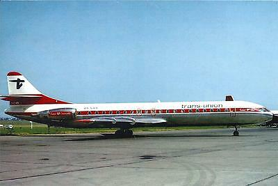 Trans-Union - Caravelle 12 - Oy-Saa - Le Bourget 1974 - Cpa Neuve - Postcard New