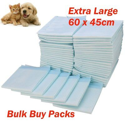 Puppy Dog Extra Large Training Pads Pad Wee Wee Floor Toilet Mats 60 x 45cm 200