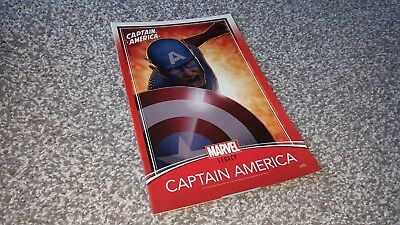 Captain America #695 Trading Card Variant (2018) Marvel Legacy