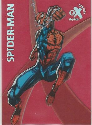 2017 Fleer Ultra Spider-Man RED EX CENTURY Spider-Man EX42 #08/42