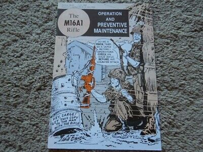 Will Eisner 1969 Vietnam M16A1 Operation / Maintenance Rifle Comic Book 30 Pages