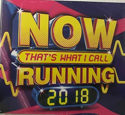 Various Artists - NOW That's What I Call Running 2018(3xCD) New Sealed