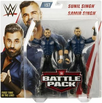 WWE Mattel Singh Brothers Battle Packs 57 Basic Figures