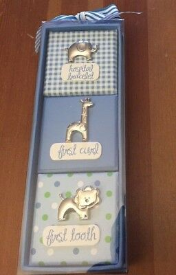 First Impressions Baby Boy Gift Set Hospital Bracelet First Curl First Tooth