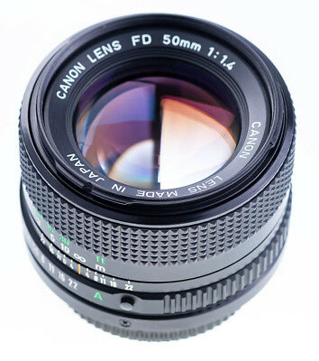 Canon FD 50 mm f 1,4  / 8 Blades Top Zustand SN3205994