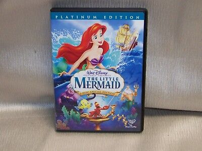 Walt Disney's The Little Mermaid (DVD, 2006, 2-Disc Set) Platinum Edition