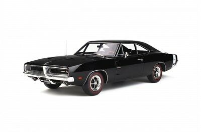 DODGE CHARGER R/T 1969 voiture miniature 1/12 collection otto g032