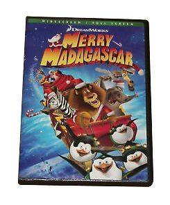 Merry Madagascar (DVD) *DISC ONLY*