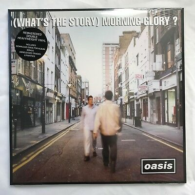 Oasis - (What's The Story) Morning Glory? 2LP 180g Vinyl Record [NEW/SEALED]