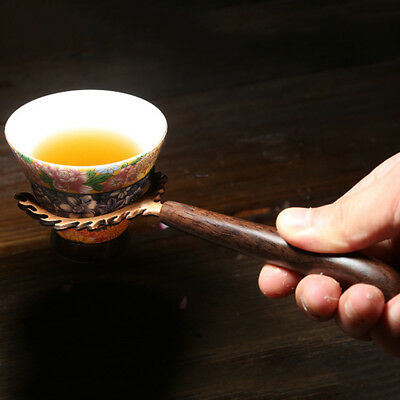 Convenient Household Gentlemen Classical Tea Cup Fork Kungfu Tea Supplies LH