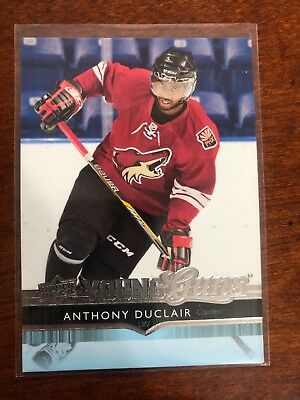2014-15 Upper Deck UD Update Young Guns #530 Anthony Duclair RC Rookie