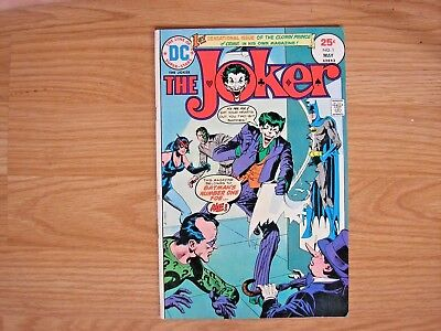 The Joker #1 - May 1975 DC - VG to Fine