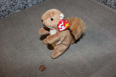 Ty Beanie Baby Nuts