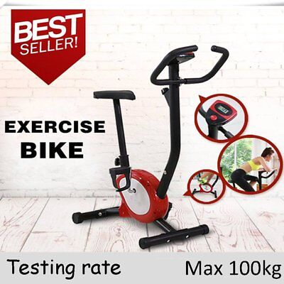 OUTAD Fitness Gym Exercise Bike Adjustable Resistance Cardio Workout