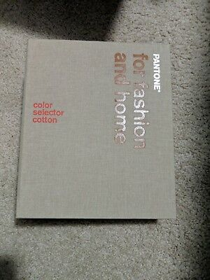 Pantone Color Selector Cotton: For Fashion and Home NEAR MINT CONDITION